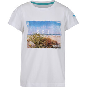 Regatta Bosley III Camiseta Niños, white sea breeze